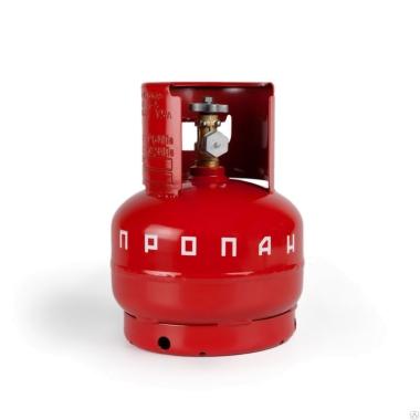 Комплектующие для монтажа  Баллон газовый 5л (с ВБ-2) НЗГА цена, купить в Йошкар-Оле