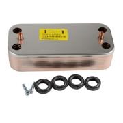 Запасные части Ariston Теплообменник вторичный ГВС для котлов ARISTON (65104333) цена, купить в Йошкар-Оле