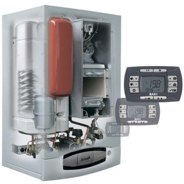 BAXI, Котел газовый NUVOLA-3 Comfort 320 Fi со встроенным бойлером на 60 л.