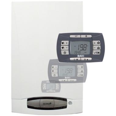 Настенные газовые котлы Baxi BAXI, Котел газовый NUVOLA-3 Comfort 280 Fi со встроенным бойлером на 60 л. цена, купить в Йошкар-Оле