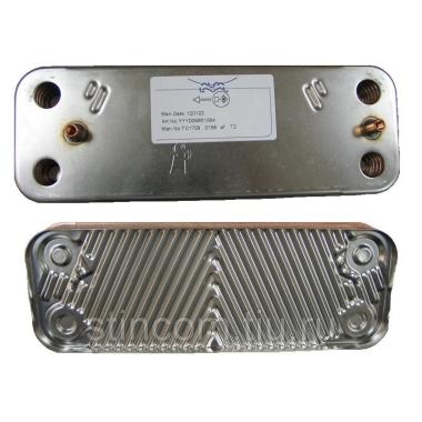 Запасные части Baxi Теплообменник ГВС на 14 пластин (5686680) цена, купить в Йошкар-Оле