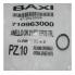 Запасные части Baxi Уплотнение кольцевое 21.5х3 BAXI (710963000) (стар. 5403130) цена, купить в Йошкар-Оле