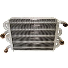 Запасные части для газовых котлов Baxi теплообменник битермический цена, купить в Йошкар-Оле
