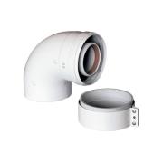 Комплектующие для монтажа Baxi  Отвод коаксиальный BAXI KHG 714101410 цена, купить в Йошкар-Оле