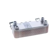 Вторичный теплообменник Vaillant atmoМАХ, turboМАХ pro/plus VUW 18-28 кВт (артикул 065153) 20 пластин