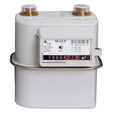 Газовые счетчики ELSTER Счетчик газовый ВК-G2,5Т Elster (левый) цена, купить в Йошкар-Оле