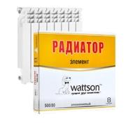Радиаторы WATTSON Радиатор AL Элемент 200 100 12 цена, купить в Йошкар-Оле