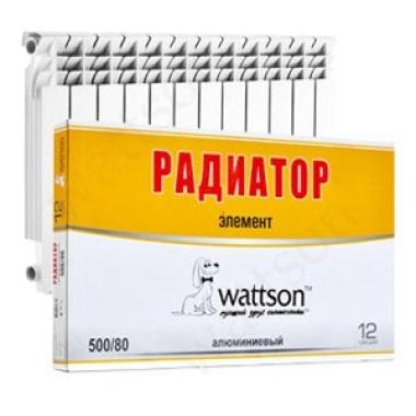Радиаторы WATTSON Радиатор AL Элемент 500 080 12 цена, купить в Йошкар-Оле