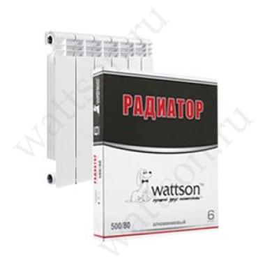 Радиатор алюминиевый EXCLUSIVO B4 350/100 6 секц