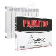 Радиаторы WATTSON Радиатор AL 500 080 10 цена, купить в Йошкар-Оле
