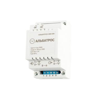 Электроснабжение  Защитное устройство АЛЬБАТРОС-500 DIN цена, купить в Йошкар-Оле